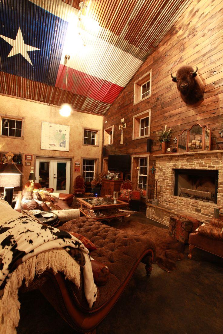 Deco intérieur bois Texas-decoration