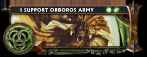 BANNER Warmahordes BannerMKII_Orboros_kromac