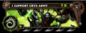BANNER Warmahordes BannerMKII_cryx_goreshade