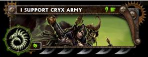 BANNER Warmahordes BannerMKII_cryx_skarre
