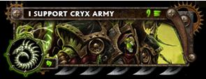 BANNER Warmahordes BannerMKII_cryx_terminus