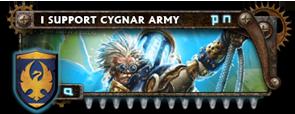BANNER Warmahordes BannerMKII_cygnar_nemo