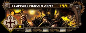 BANNER Warmahordes BannerMKII_menoth_reclaimer