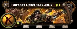 BANNER Warmahordes BannerMKII_merc_magnus