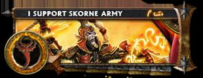 BANNER Warmahordes BannerMKII_skorne_makeda2
