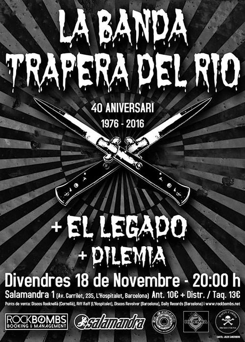 La Banda Trapera del Río vuelve a los escenarios - Página 2 Banda-trapera-40-aniv-cartel