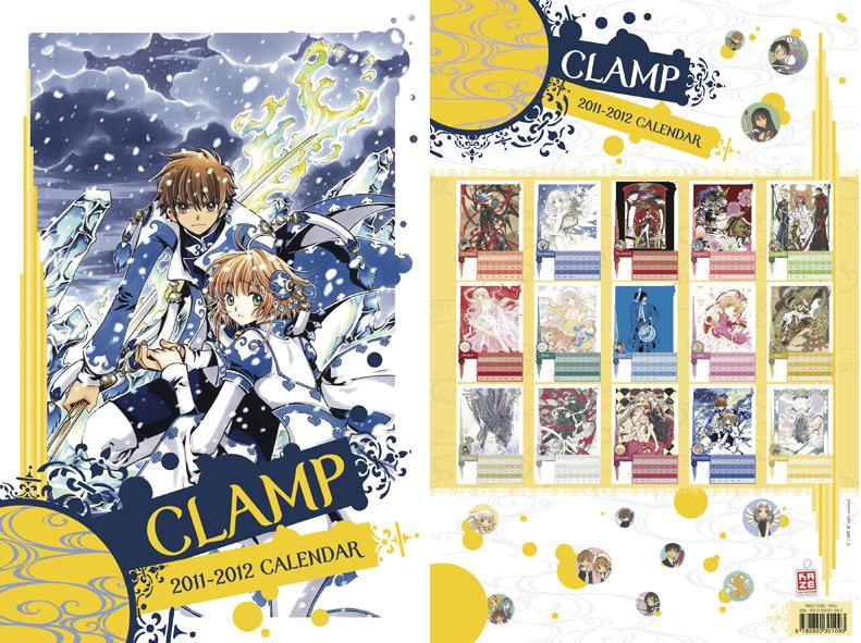 Calendrier Clamp 2011-2012 CLAMP_CALENDRIER_2011_