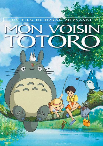 Mon voisin Totoro Mon-voisin-totoro-affiche