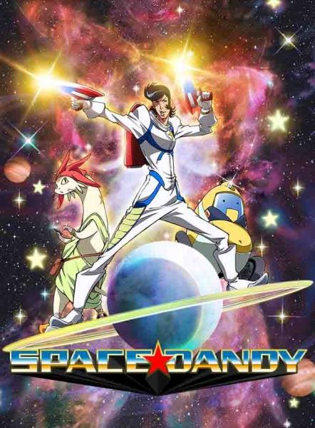 Les Mangas & Animés/Sentai - Page 3 Space-dandy-anime