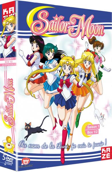 Nouvelle édition de Sailor Moon chez Kazé Sailor-moon-saison1-box1-dvd