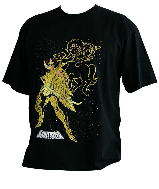 [ABYstyle] T-shirts Saint Seiya Tshirt-saint-seiya-aiolos-abystyle