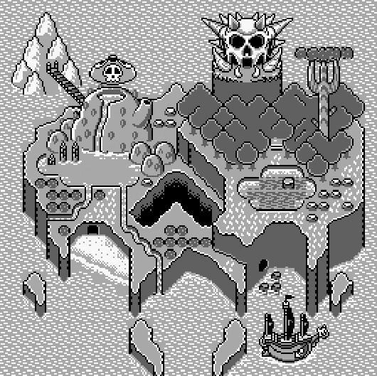 Test Super Mario Land 3 (Warioland) Gameboy Screenshot-super-mario-land-3-wario-land-game-boy-4