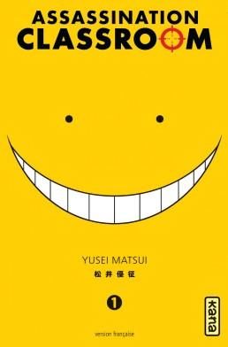 [MANGA/ANIME/FILM] Assassination Classroom (Ansatsu Kyoushitsu) ~ Assassination-classroom-1-kana