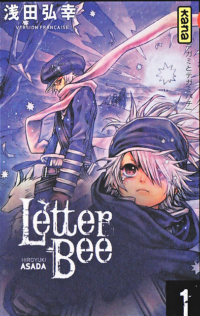 [MANGA/ANIME] Letter Bee / Tegami Bachi Letter-bee-01