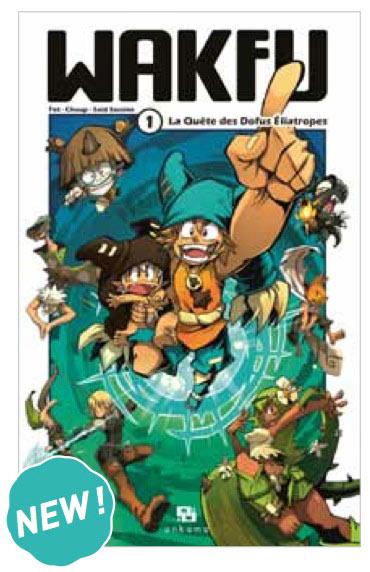[JV/Global Manga/DessinAnimé] Wakfu Wakfu-manga