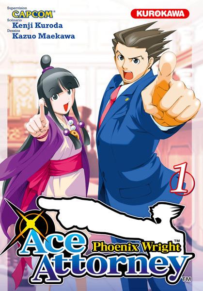 Ace Attorney débarque chez vos libraire! Ace-Attorney-1-kurokawa