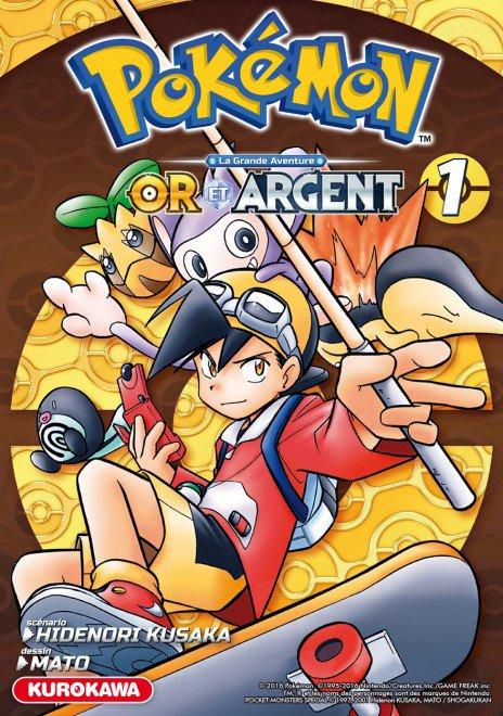 Pokémon, la Grande Aventure. Pokemon-or-argent-1-kurokawa