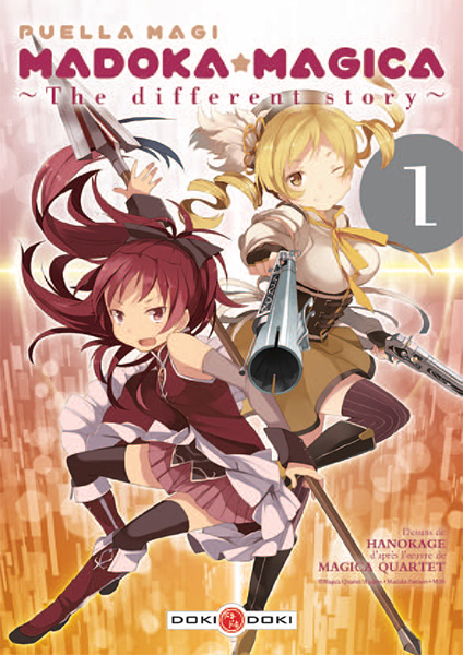 [Animé & Manga] Puella Magi Madoka Magica - Page 2 Puella-magi-madoka-magica-different-story-1-doki