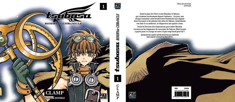 Tsubasa Reservoir Chronicle: la réédition en volumes doubles 1377358_10153273643635416_1941491360_n