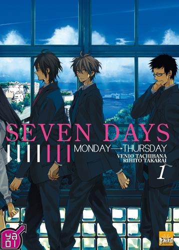Seven Days [yaoi] - Page 2 Seven-days-manga-volume-1-francaise-34903