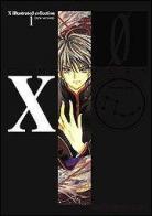 Galerie des recueils d'illustrations Mangas/Animés de Clamp - Page 2 X-de-clamp-zero-artbook-volume-1-japonaise-12088