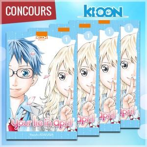 mangacast - [Podcast] Mangacast ~ Concours_yourlieinapril-300x300