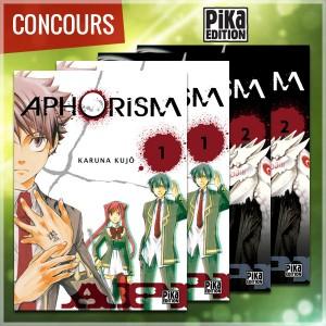 mangacast - [Podcast] Mangacast ~ Concours_aphorism_600px-300x300