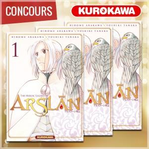 mangacast - [Podcast] Mangacast ~ Concours_arslan_600px-300x300