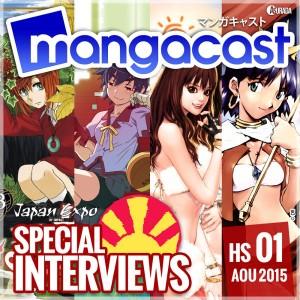 mangacast - [Podcast] Mangacast ~ 20150811_mangacast_hs01_aout2015-600px-300x300