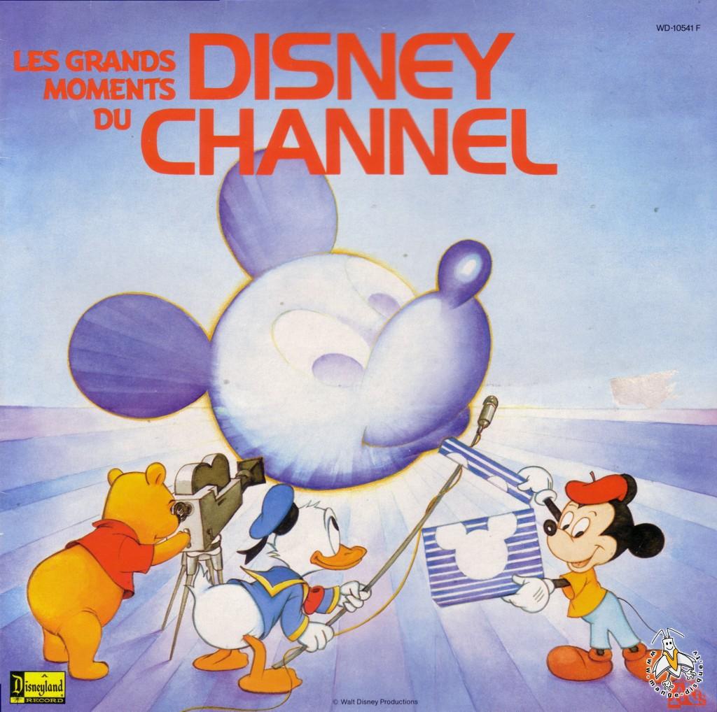 Le Disney Channel, l'émission culte diffusée sur FR3 dans les années 80 Disque-bg-1013-emission-disney-channel-les-grands-moments-du-disney-channel