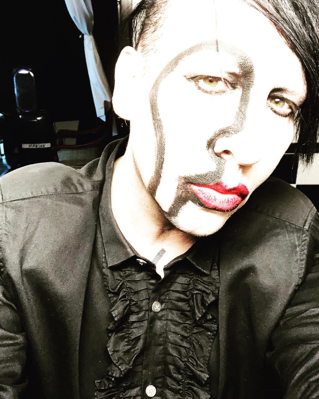 "Marilyn Manson >> álbum ""We Are Chaos"" Instagram-2018-10-25"