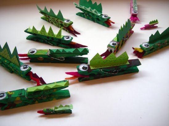 Dragón con Pinzas-Material Escuela Dominical  Dragon-con-pinzas-de-la-ropa