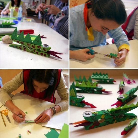 Dragón con Pinzas-Material Escuela Dominical  Dragon-pinza-paso-a-paso