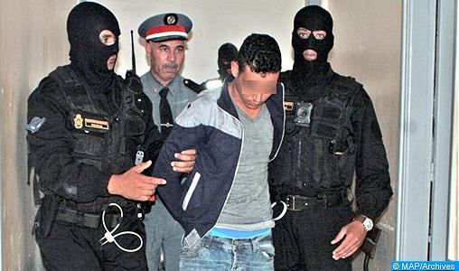 Moroccan Special Forces/Forces spéciales marocaines  :Videos et Photos : BCIJ, Gendarmerie Royale ,  - Page 12 Les-%C3%A9l%C3%A9ments-de-la-Gendarmerie-Royale-trafiquant-notoire-de-stup%C3%A9fiants-M