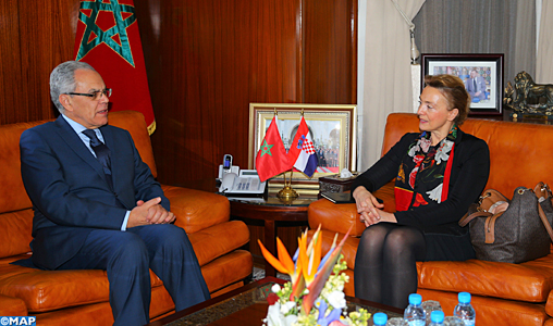 Coopération militaire Maroc-Croatie  Loudiyi-recoit-vice-ministre-croate-M1