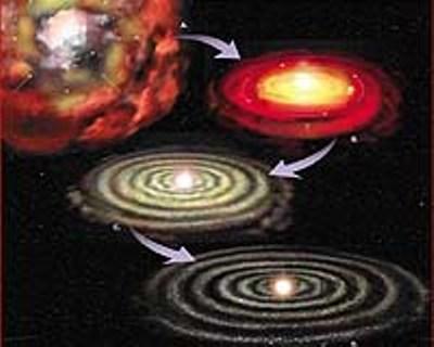 Uma possível explicação para todo o Universo 9-solar-system-formation-early