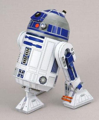 Les jouets en papier R2-1B_168