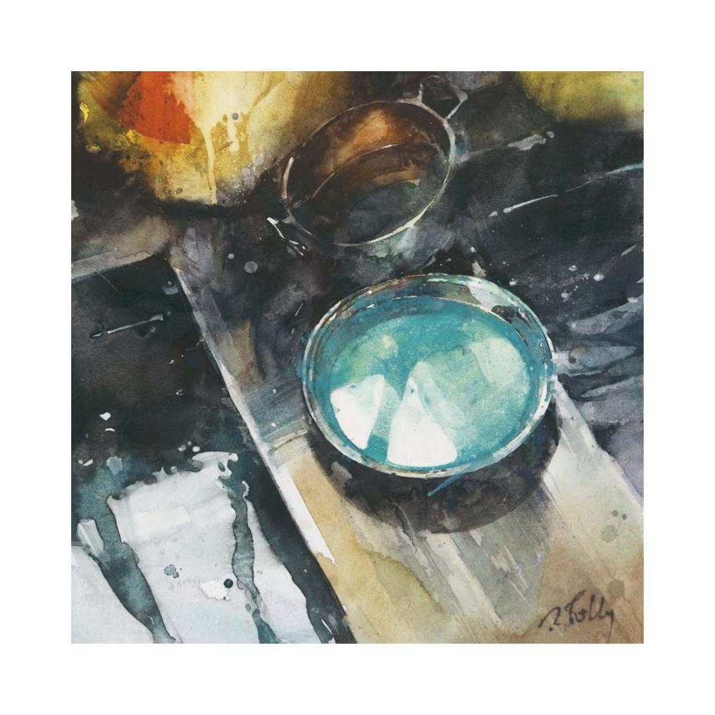 [tuto] L'Aquarelle - [Technique, Avis, Discussion] Timbale-turquoise-ii