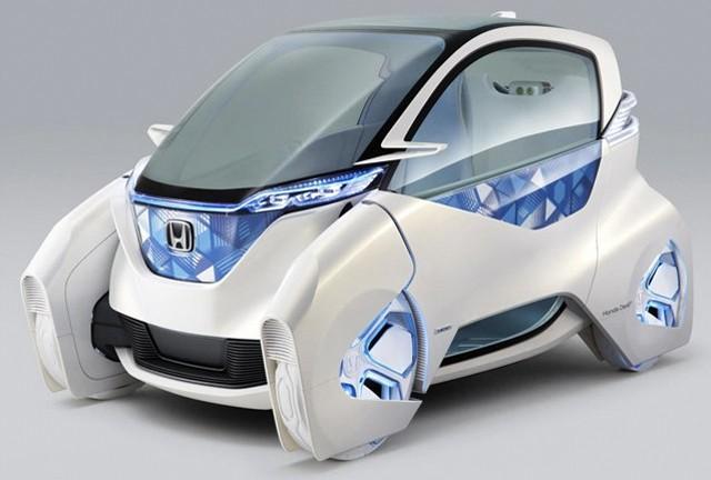 Voiture électrique : le Micro Commuter de Honda s'attaque au Twizy de Renault Voiture-electrique-honda-2