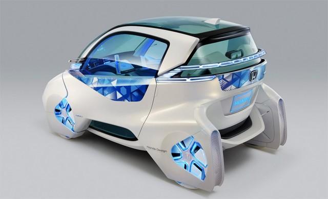 Voiture électrique : le Micro Commuter de Honda s'attaque au Twizy de Renault Voiture-electrique-honda-3