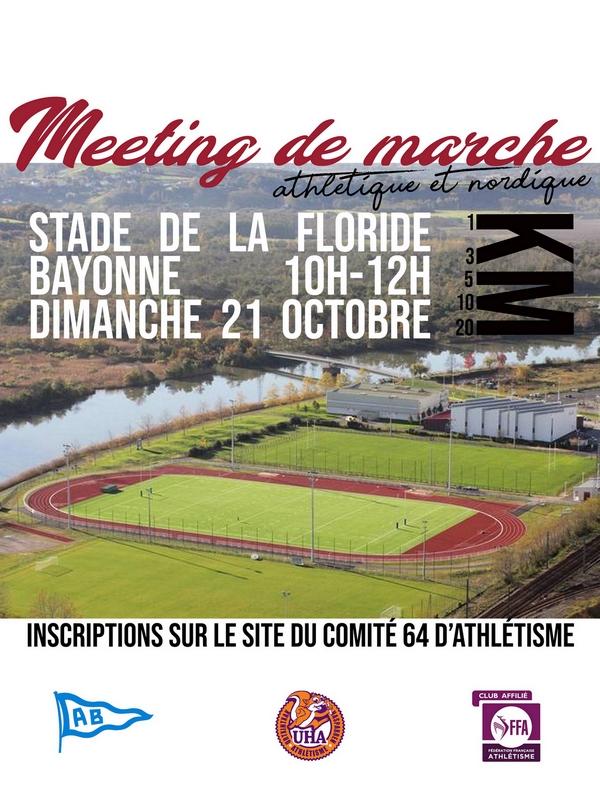 Bayonne 21.10.2018 Affiche-meeting
