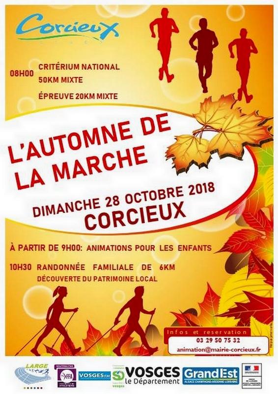 28-10-2018 Corcieux Critérium National 50 km marche mixte CORCIEUX-50KM-2018