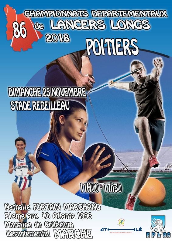 25-11-2018 Poitiers Critérium Départemental 86 marche piste Poitiers-2018-1