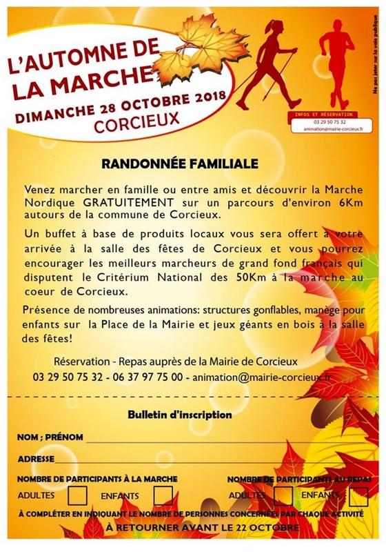 28-10-2018 Corcieux Critérium National 50 km marche mixte RANDO-CORCIEUX-2018