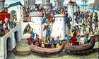 أحداث شهر أبريل 140px-ConquestOfConstantinopleByTheCrusadersIn1204