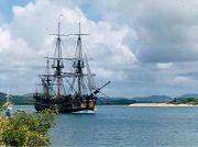 أحداث شهر أبريل 180px-Endeavour_replica_in_Cooktown_harbour