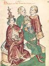 أحداث شهر مايو 100px-Otto_III_wird_von_Papst_Gregor_V._zum_Kaiser_gesalbt
