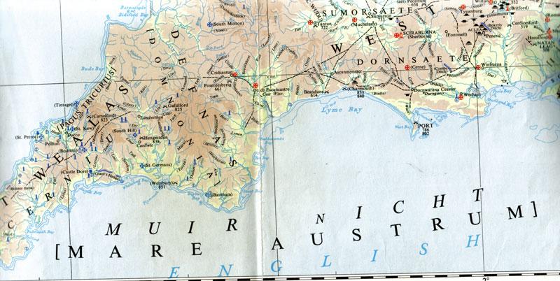 Etymologie du nom de la Manche Muir-nicht
