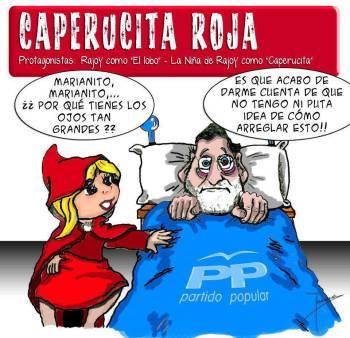 Humor en la política Rajoy%20caperucita%20roja