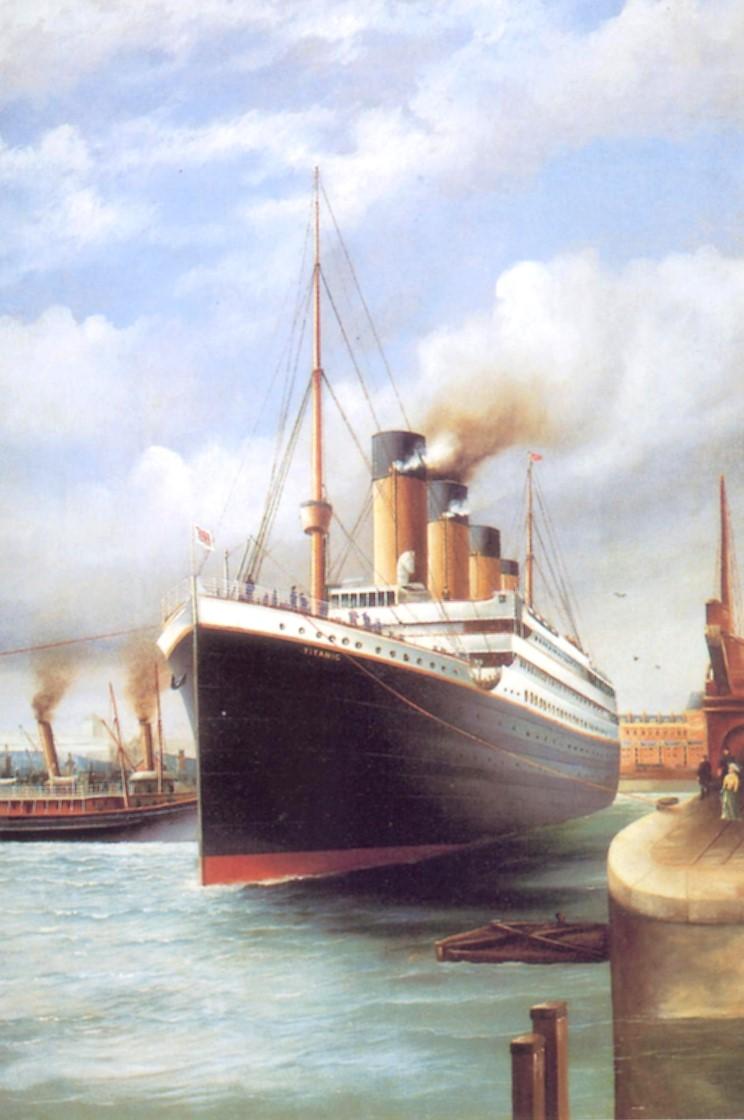 Dessins de vrais artistes 04_titanic